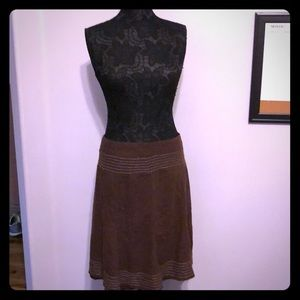 Maurice's brown linen shirt size 11/12